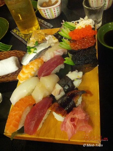 10 Quán Sushi Ngon Giao Tận Nơi Ở Hà Nội